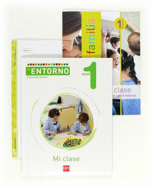 APRENDO A PENSAR CON EL ENTORNO: MI CLASE. NIVEL 1. EDUCACIÓN INFANTIL