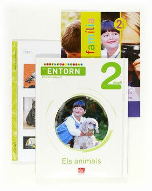 APRENC A PENSAR AMB L'ENTORN: ELS ANIMALS. NIVELL 2. EDUCACIÓ INFANTIL