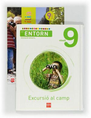 APRENC A PENSAR AMB L'ENTORN: EXCURSIÓ AL CAMP. NIVELL 9. EDUCACIÓ INFANTIL