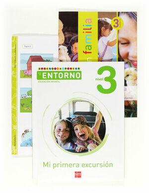 APRENDO A PENSAR CON EL ENTORNO: MI PRIMERA EXCURSIÓN. NIVEL 3. EDUCACIÓN INFANTIL