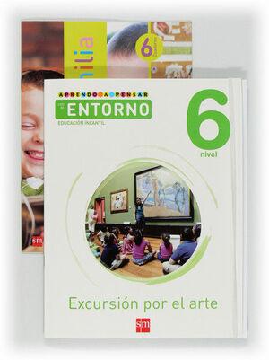APRENDO A PENSAR CON EL ENTORNO: EXCURSIÓN POR EL ARTE. NIVEL 6. EDUCACIÓN INFANTIL