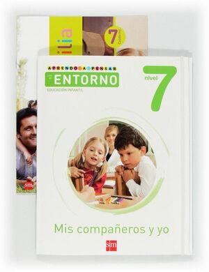 APRENDO A PENSAR CON EL ENTORNO: MIS COMPAÑEROS Y YO. NIVEL 7. EDUCACIÓN INFANTIL