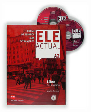 ELE ACTUAL A2. LIBRO DEL ALUMNO + CD AUDIO