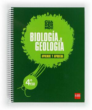BIOLOGÍA Y GEOLOGÍA. 4 ESO. APRENDE Y APRUEBA. CUADERNO