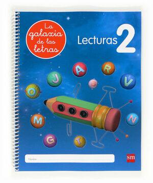 LECTURAS 2. LA GALAXIA DE LAS LETRAS