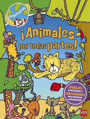 ¡ANIMALES POR TODAS PARTES!