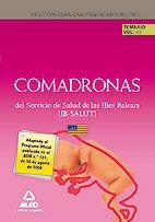 COMADRONAS DEL IB-SALUT. TEMARIO. VOLUMEN III