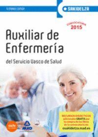 AUXILIAR DE ENFERMERÍA DE OSAKIDETZA-SERVICIO VASCO DE SALUD. TEMARIO COMÚN