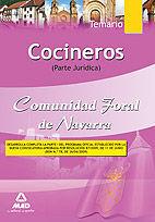 COCINEROS DE LA COMUNIDAD FORAL DE NAVARRA. TEMARIO PARTE JURÍDICA