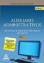 AUXILIARES ADMINISTRATIVOS DEL IB-SALUT. INFORMÁTICA
