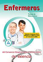 ENFERMEROS DEL CONSORCIO HOSPITAL GENERAL UNIVERSITARIO DE VALENCIA. TEMAS DE INFORMÁTICA