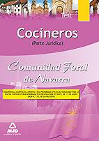 COCINEROS DE LA COMUNIDAD FORAL DE NAVARRA. TEST DE LA PARTE JURÍDICA