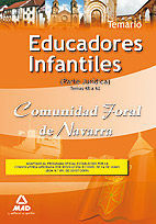 EDUCADORES INFANTILES DE LA COMUNIDAD FORAL DE NAVARRA. TEMARIO PARTE JURÍDICA