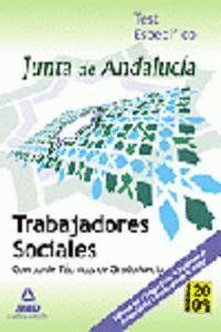 TRABAJADORES SOCIALES DE LA JUNTA DE ANDALUCÍA. CUERPO DE TÉCNICOS DE GRADO MEDIO. TEST