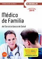 MÉDICO DE FAMILIA DE OSAKIDETZA-SERVICIO VASCO DE SALUD. TEMARIO GENERAL VOLUMEN 3