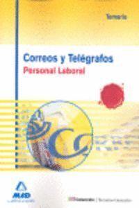 CORREOS Y TELÉGRAFOS. PERSONAL LABORAL. TEMARIO