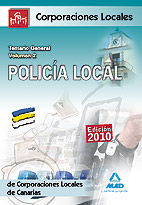 POLICÍA LOCAL DE CANARIAS. TEMARIO GENERAL. VOLUMEN II