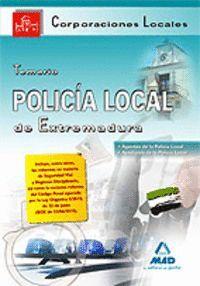 POLICÍA LOCAL DE EXTREMADURA. TEMARIO.