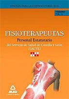 FISIOTERAPEUTAS DEL SERVICIO DE SALUD DE CASTILLA Y  LEÓN (SACYL). TEMARIO VOLUMEN III. PERSONAL ESTATUTARIO