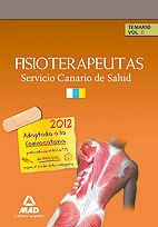 FISIOTERAPEUTAS DEL SERVICIO CANARIO DE SALUD/HOSPITAL UNIVERSITARIO DE CANARIAS. TEMARIO. VOLUMEN II