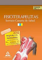FISIOTERAPEUTAS DEL SERVICIO CANARIO DE SALUD/HOSPITAL UNIVERSITARIO DE CANARIAS. TEMARIO. VOLUMEN III