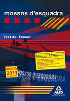 MOSSOS D`ESQUADRA. TEST DEL TEMARI