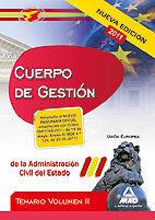 CUERPO DE GESTIÓN DE LA ADMINISTRACIÓN DEL ESTADO. TEMARIO VOL.II: UNIÓN EUROPEA