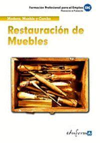 RESTAURACIÓN DE MUEBLES MADERA, MUEBLE Y CORCHO