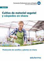 CULTIVO DE MATERIAL VEGETAL Y CÉSPEDES EN VIVERO. CERTIFICADO DE PROFESIONALIDAD PRODUCCIÓN DE SEMILLAS Y PLANTAS EN VIVERO. FAMILIA PROFESIONAL AGRAR