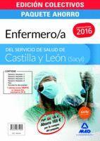 PAQUETE AHORRO ENFERMERO/A DEL  SERVICIO DE SALUD DE CASTILLA Y LEÓN (SACYL). ( CONTIENE VOL. I , II , III , IV, TEST, Y SIMULACROS DE EXAMEN)