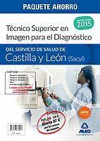 PAQUETE AHORRO TECNICO SUPERIOR EN IMAGEN PARA EL DIAGNÓSTICO DEL SERVICIO DE SALUD DE CASTILLA Y LEÓN (SACYL) . (CONTIENE VOLUMEN I, II, III, TEST Y