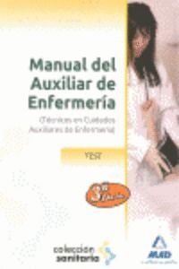 MANUAL DEL AUXILIAR DE ENFERMERÍA. TEST