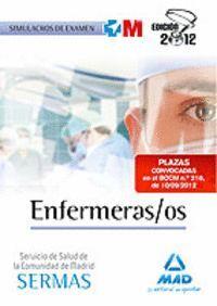 ENFERMERAS/OS SERVICIOS SALUD MADRID.SIMULACROS EXAMEN