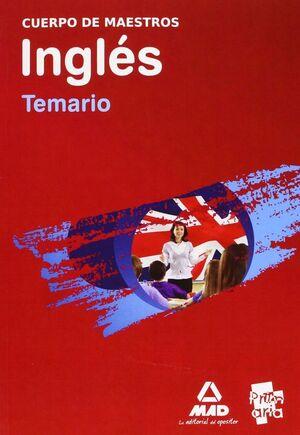 PAQUETE AHORRO  MAESTROS INGLES (TEMARIO + PROGRAMACIÓN + VOLUMEN PRÁCTICO)