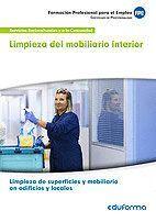 LIMPIEZA DEL MOBILIARIO INTERIOR
