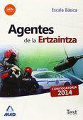 AGENTES DE LA ERTZAINTZA. ESCALA BÁSICA. TEST. CAMPUS TRAINING