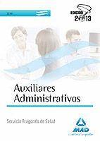 AUXILIARES ADMINISTRATIVOS DEL SERVICIO ARAGONÉS DE SALUD. TEST