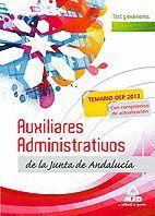 AUXILIARES ADMINISTRATIVOS DE LA JUNTA DE ANDALUCÍA. TEST Y EXÁMENES.