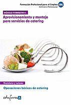 MÓDULO FORMATIVO 1. APROVISIONAMIENTO Y MONTAJE PARA SERVICIOS DE CATERING. OPERACIONES BÁSICAS DE CATERING
