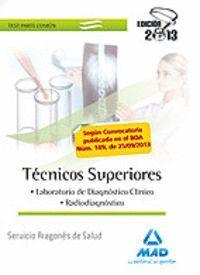 TÉCNICOS SUPERIORES DEL SERVICIO ARAGONÉS DE SALUD. TEST COMÚN