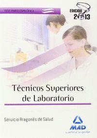 TECNICOS SUPERIORES DE LABORATRIO TEST PARTE ESPECFICA