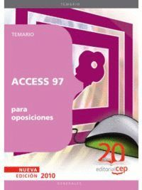 ACCESS 97 PARA OPOSICIONES
