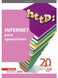 INTERNET PARA OPOSICIONES