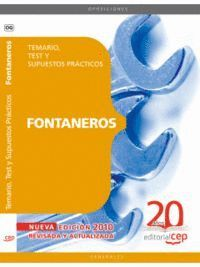 FONTANEROS. TEMARIO, TEST Y SUPUESTOS PRÁCTICOS
