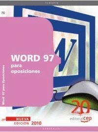 WORD 97 PARA OPOSICIONES