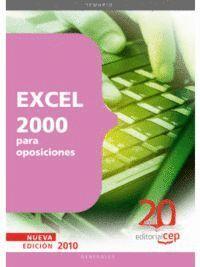 EXCEL 2000  PARA OPOSICIONES