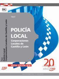 POLICÍA LOCAL CORPORACIONES LOCALES DE CASTILLA Y LEÓN. TEST