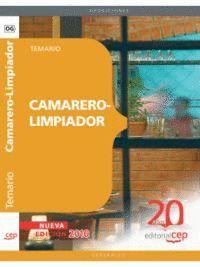 CAMARERO-LIMPIADOR. TEMARIO