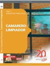 CAMARER. TEST Y SUPUESTOS PRACTICOS CAMARERO-LIMPIADOR