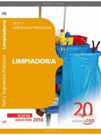 LIMPIADOR/A. TEST Y SUPUESTOS PRÁCTICOS